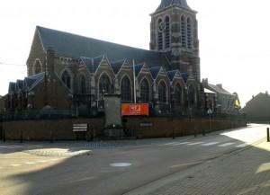 12..Église de Liers vue du croisement Fexhe - Juprelle - Rocourt - Milmort [1280x768]