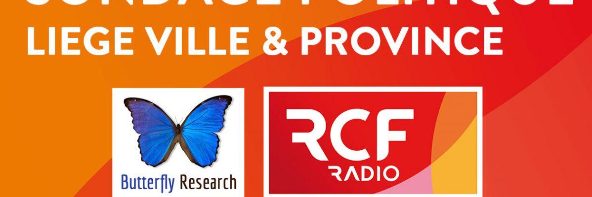 Sondage politique RCF Liège ville & province