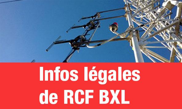 Informations légales (Bxl)