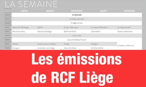 Grille des programmes (Liège)