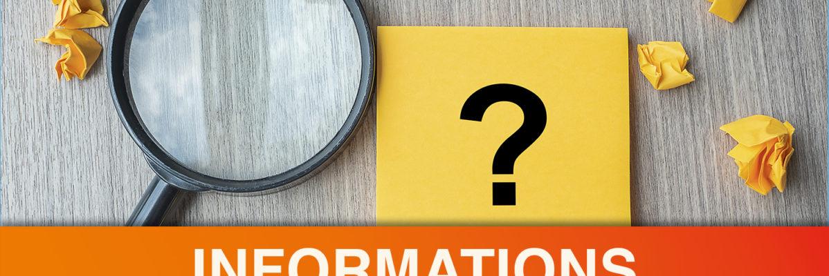 Informations légales (1RCF)