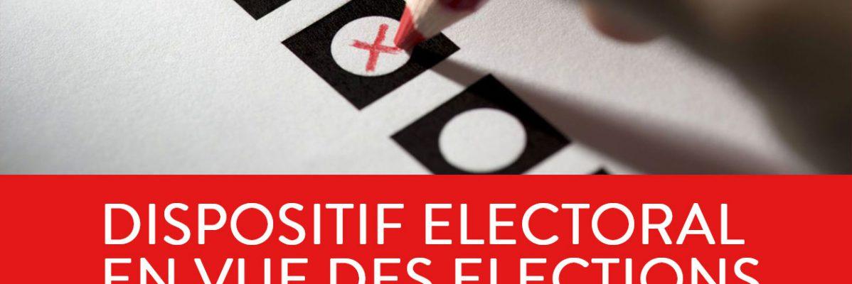 Dispositif électoral en vue des élections du 26 mai 2019