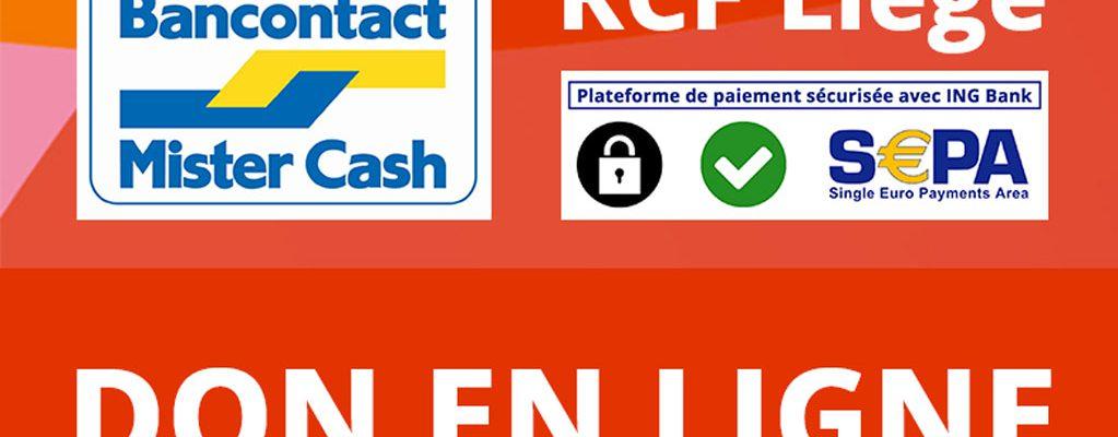 Don en ligne RCF Liège