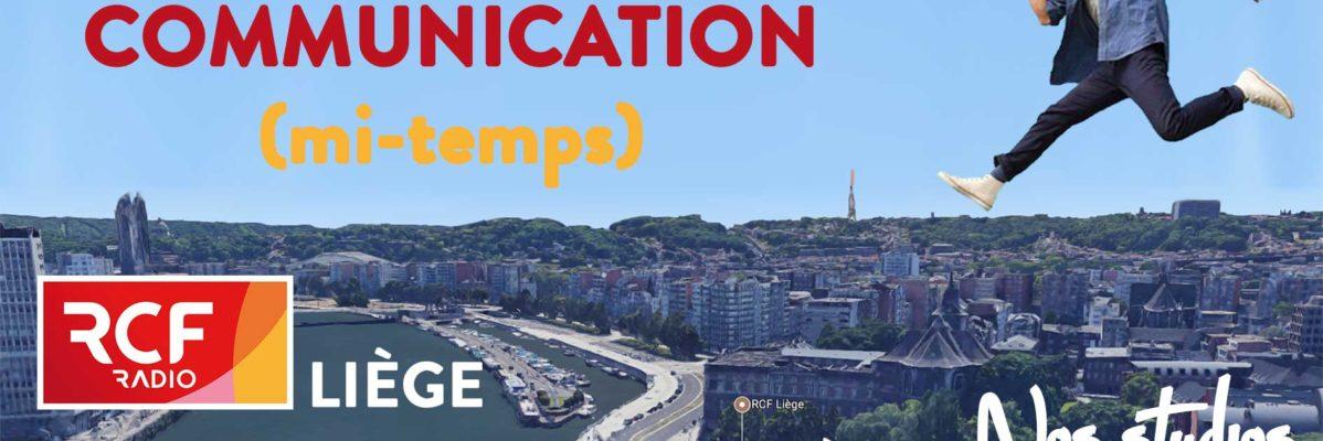 RCF Liège recrute chargé de communication