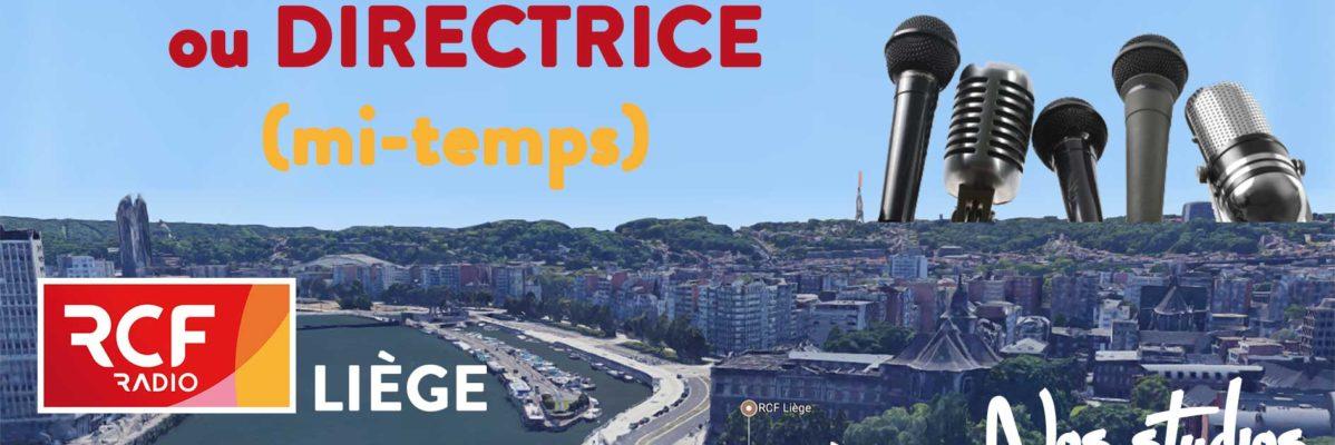 RCF Liège recrute directeur ou directrice