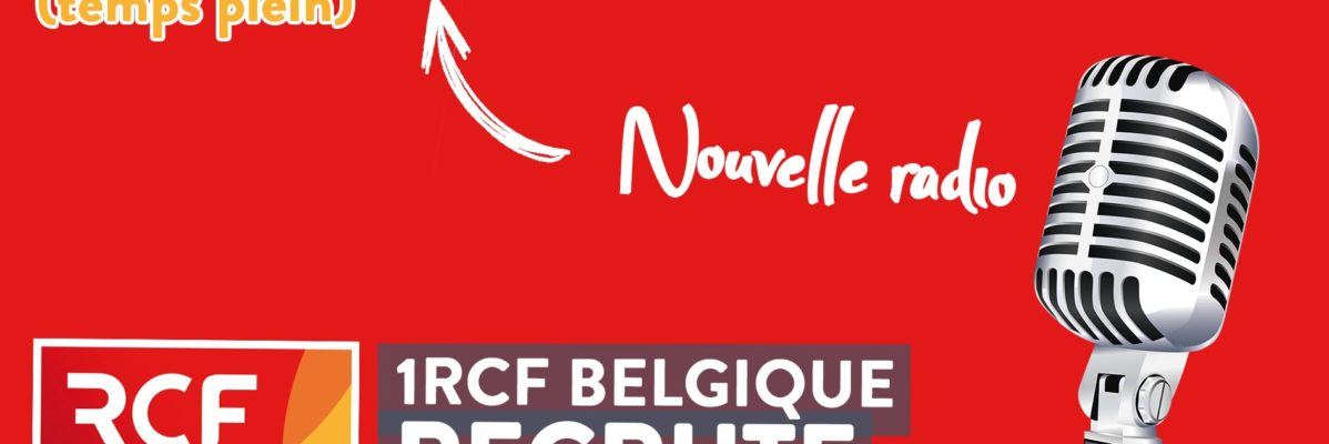 1RCF recrute un Technicien-Animateur H/F
