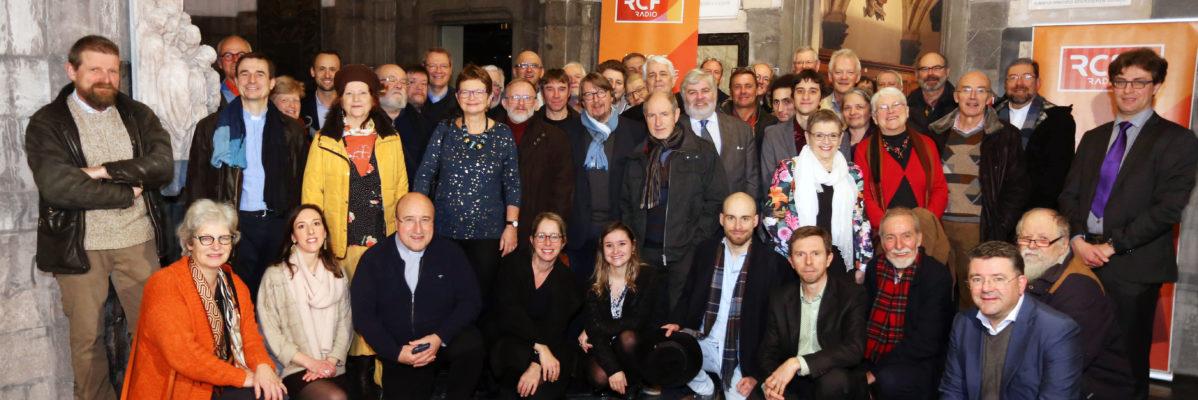Vœux 2020: retour sur la soirée de l'équipe RCF au Trésor de Liège