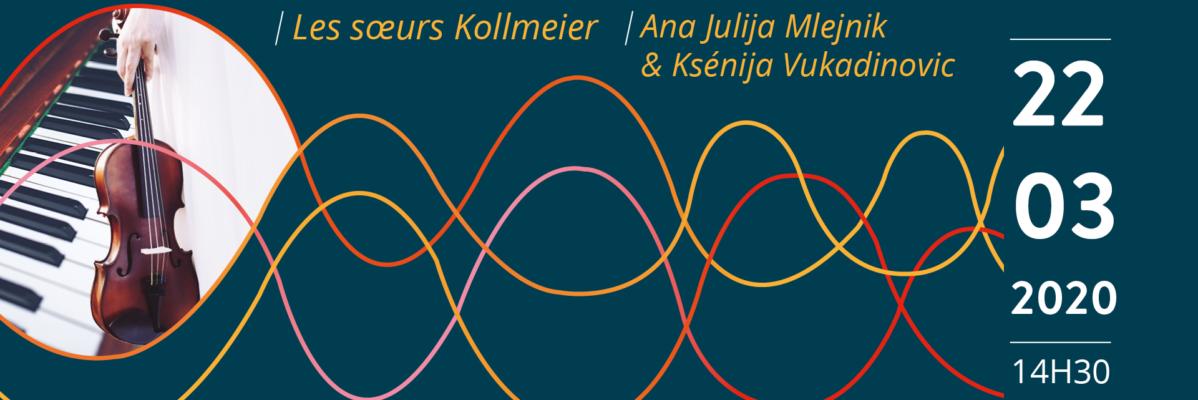Concert RCF à l'académie Grétry le 22 mars 2020