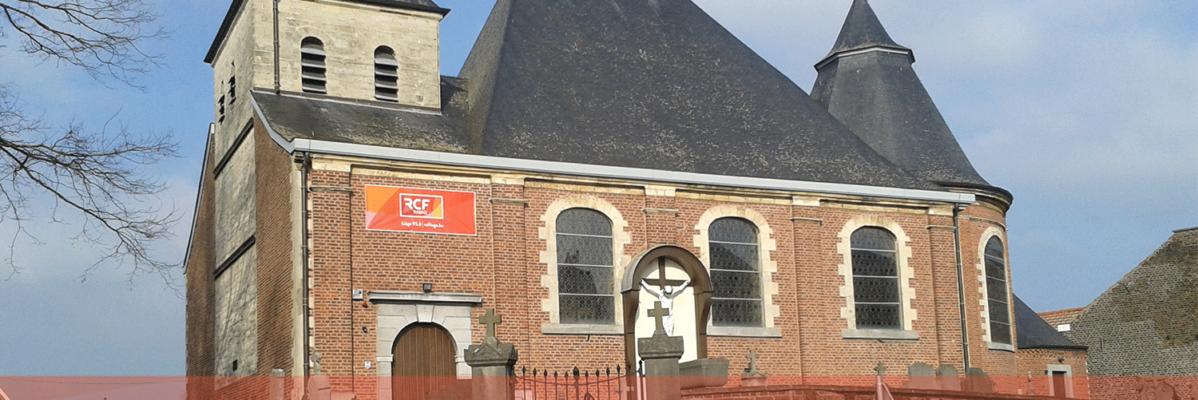 visibilité de rcf liège église de lantin
