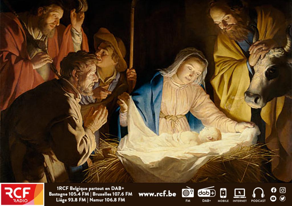L'affiche RCF pour Noël 2020