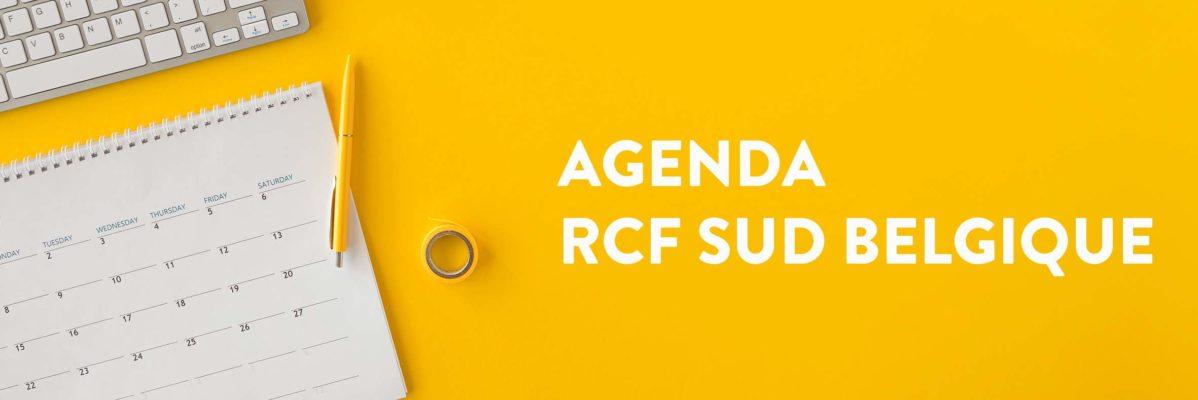 Agenda RCF Sud Belgique